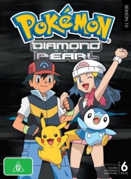 >Pokemon โปเกม่อนภาคปี 10 Diamond and Pearl