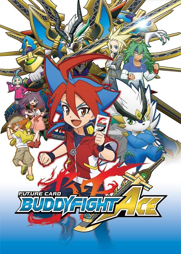 >Future Card Buddyfight Ace ฟิวเจอร์การ์ด ชิน บัดดี้ไฟท์ ตอนที่ 1-43 พากย์ไทย