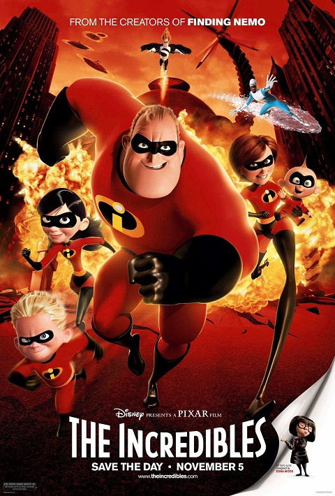 >The Incredibles (2004) รวมเหล่ายอดคนพิทักษ์โลก พากย์ไทย